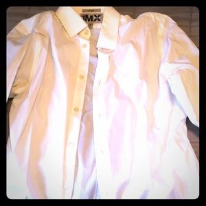 1MX EXPRESS FITTED BUTTON UP SHIRT